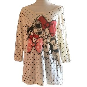 *NEW ITEM* NWOT Disney Parks Minnie Mouse Soft Tee
